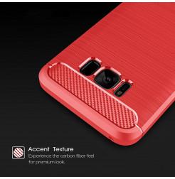 4926 - MadPhone Carbon силиконов кейс за Samsung Galaxy S8+ Plus