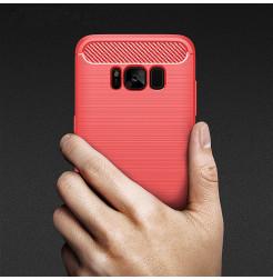 4929 - MadPhone Carbon силиконов кейс за Samsung Galaxy S8+ Plus