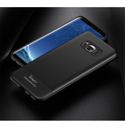 4931 - iPaky Carbon силиконов кейс калъф за Samsung Galaxy S8+ Plus