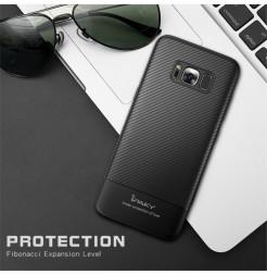 4932 - iPaky Carbon силиконов кейс калъф за Samsung Galaxy S8+ Plus