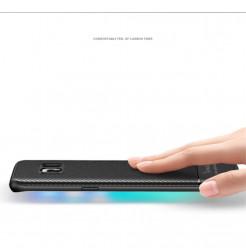 4933 - iPaky Carbon силиконов кейс калъф за Samsung Galaxy S8+ Plus