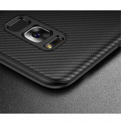 4934 - iPaky Carbon силиконов кейс калъф за Samsung Galaxy S8+ Plus