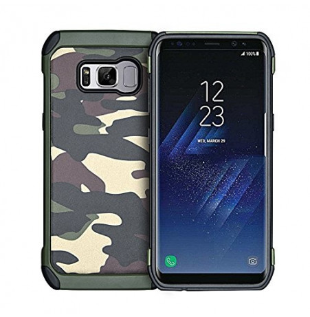 4953 - MadPhone Camo удароустойчив кейс за Samsung Galaxy S8+ Plus