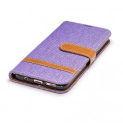 5048 - MadPhone Canvas кожен калъф за Samsung Galaxy S8+ Plus