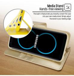 5069 - Mercury Goospery Bravo кожен калъф за Samsung Galaxy S8+ Plus