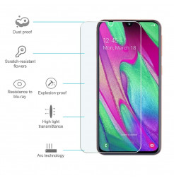 525 - MadPhone стъклен протектор 9H за Samsung Galaxy A40