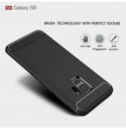 5279 - MadPhone Carbon силиконов кейс за Samsung Galaxy S9