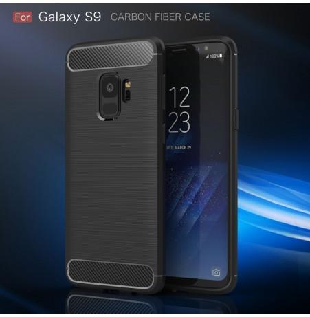 5280 - MadPhone Carbon силиконов кейс за Samsung Galaxy S9