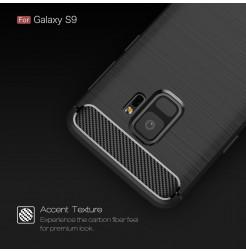5281 - MadPhone Carbon силиконов кейс за Samsung Galaxy S9