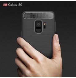 5283 - MadPhone Carbon силиконов кейс за Samsung Galaxy S9