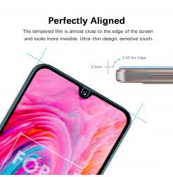 531 - 3D стъклен протектор за целия дисплей Samsung Galaxy A40