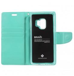 5413 - Mercury Goospery Bravo кожен калъф за Samsung Galaxy S9
