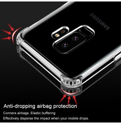 5627 - IMAK Airbag силиконов калъф за Samsung Galaxy S9+ Plus