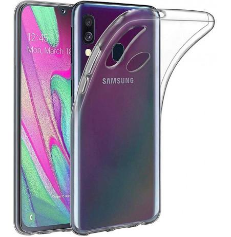 563 - MadPhone супер слим силиконов гръб за Samsung Galaxy A40