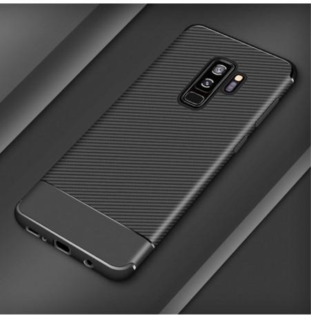 5662 - iPaky Carbon силиконов кейс калъф за Samsung Galaxy S9+ Plus