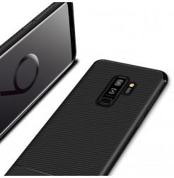 5663 - iPaky Carbon силиконов кейс калъф за Samsung Galaxy S9+ Plus