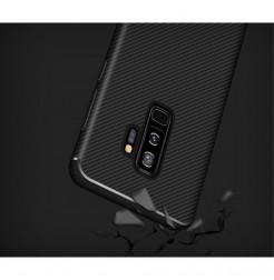 5667 - iPaky Carbon силиконов кейс калъф за Samsung Galaxy S9+ Plus