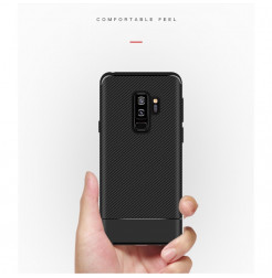 5671 - iPaky Carbon силиконов кейс калъф за Samsung Galaxy S9+ Plus