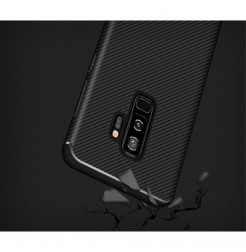 5673 - iPaky Carbon силиконов кейс калъф за Samsung Galaxy S9+ Plus