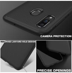 573 - MadPhone релефен TPU калъф за Samsung Galaxy A40