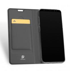 5822 - Dux Ducis Skin кожен калъф за Samsung Galaxy S9+ Plus