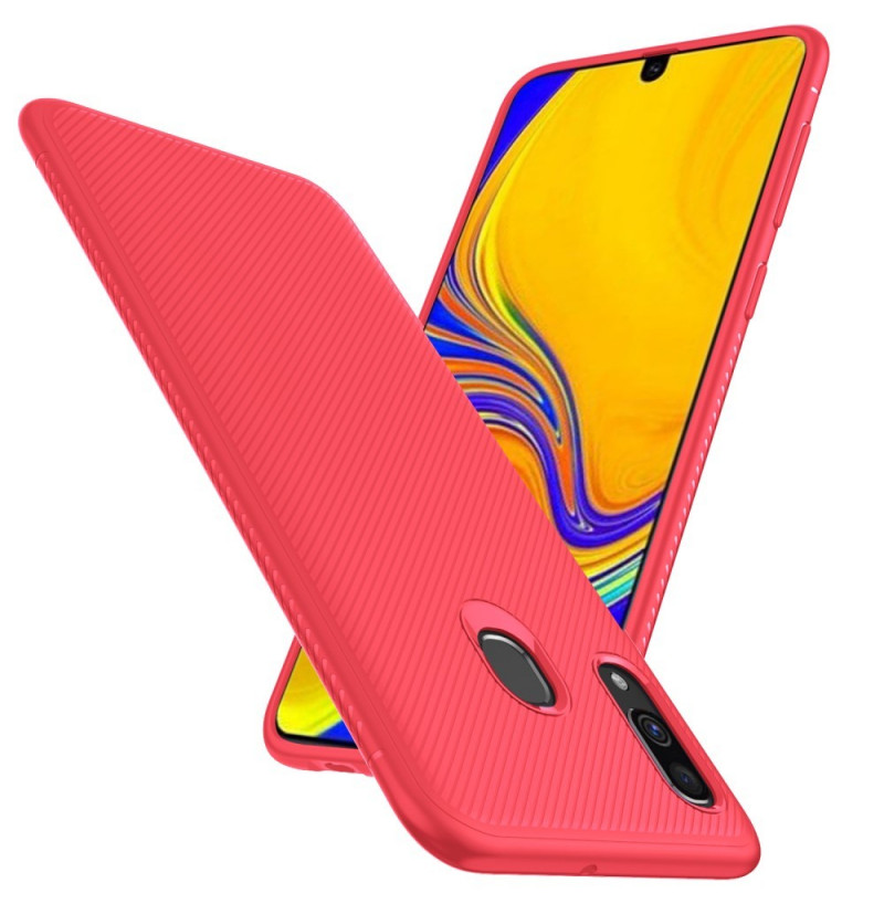 583 - MadPhone релефен TPU калъф за Samsung Galaxy A40