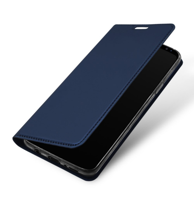 5844 - Dux Ducis Skin кожен калъф за Samsung Galaxy S9+ Plus