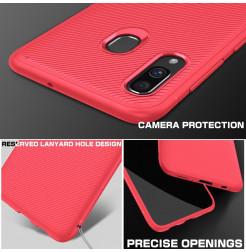 585 - MadPhone релефен TPU калъф за Samsung Galaxy A40