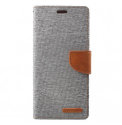 5862 - Mercury Goospery Canvas текстилен калъф за Samsung Galaxy S9+ Plus