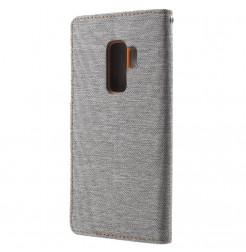 5864 - Mercury Goospery Canvas текстилен калъф за Samsung Galaxy S9+ Plus