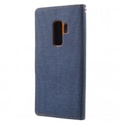 5874 - Mercury Goospery Canvas текстилен калъф за Samsung Galaxy S9+ Plus