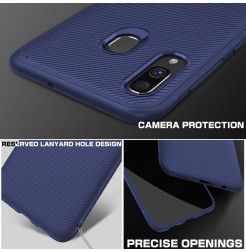 597 - MadPhone релефен TPU калъф за Samsung Galaxy A40