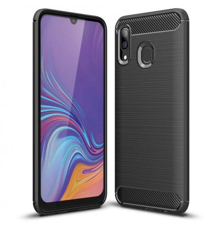 607 - MadPhone Carbon силиконов кейс за Samsung Galaxy A40