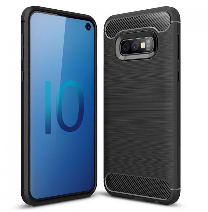 6181 - MadPhone Carbon силиконов кейс за Samsung Galaxy S10e
