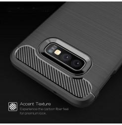 6183 - MadPhone Carbon силиконов кейс за Samsung Galaxy S10e
