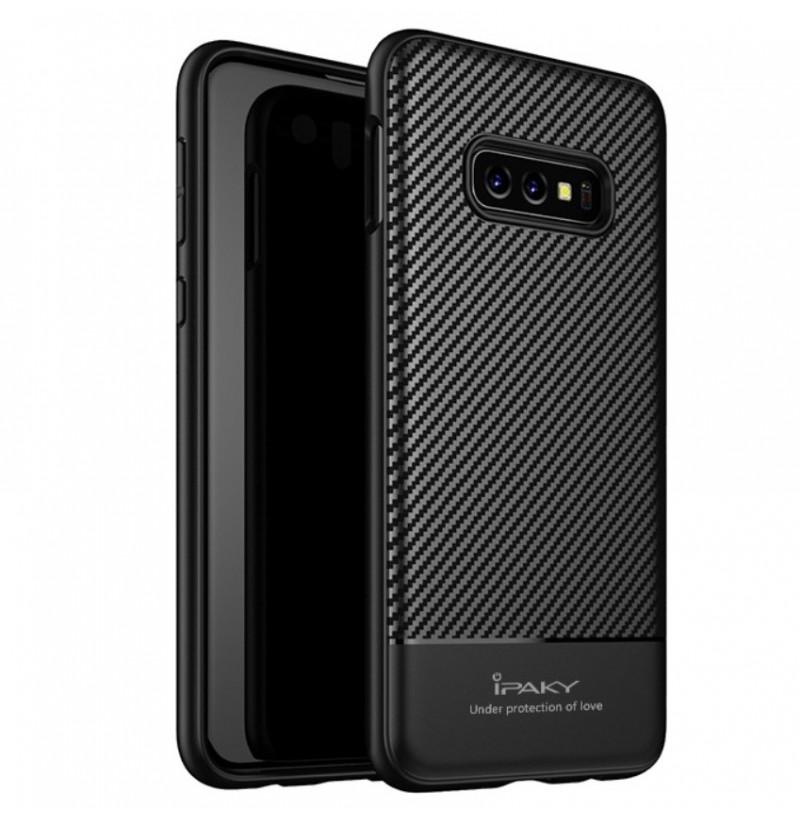 6223 - iPaky Carbon силиконов кейс калъф за Samsung Galaxy S10e