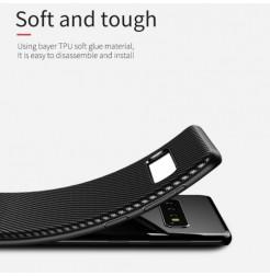 6224 - iPaky Carbon силиконов кейс калъф за Samsung Galaxy S10e