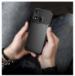 624 - MadPhone Thunder силиконов кейс за Samsung Galaxy A40