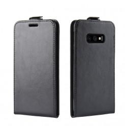 6240 - MadPhone Flip кожен калъф за Samsung Galaxy S10e