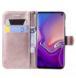 6267 - MadPhone Classic кожен калъф за Samsung Galaxy S10e