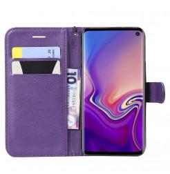 6277 - MadPhone Classic кожен калъф за Samsung Galaxy S10e