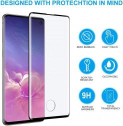 6383 - 3D стъклен протектор за целия дисплей Samsung Galaxy S10