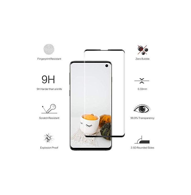 6389 - 5D стъклен протектор за Samsung Galaxy S10