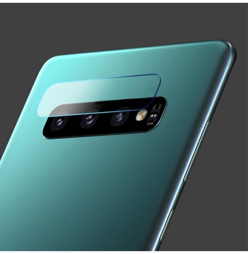 6413 - Стъклен протектор за камерата на Samsung Galaxy S10