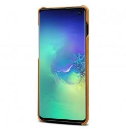 6646 - MadPhone кожен гръб за Samsung Galaxy S10