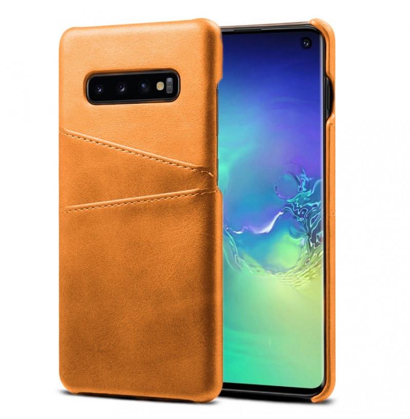 6647 - MadPhone кожен гръб за Samsung Galaxy S10