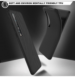 6672 - MadPhone релефен TPU калъф за Xiaomi Mi 10 / 10 Pro