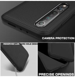 6673 - MadPhone релефен TPU калъф за Xiaomi Mi 10 / 10 Pro