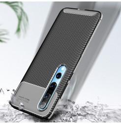 6708 - iPaky Carbon силиконов кейс калъф за Xiaomi Mi 10 / 10 Pro