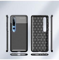 6711 - iPaky Carbon силиконов кейс калъф за Xiaomi Mi 10 / 10 Pro